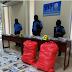 Policía incauta cinco sacos de marihuana en Managua
