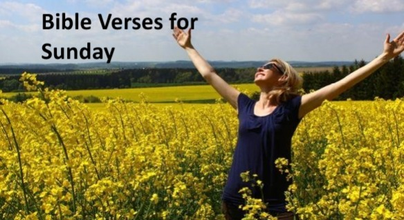 Bible Verses for Sunday