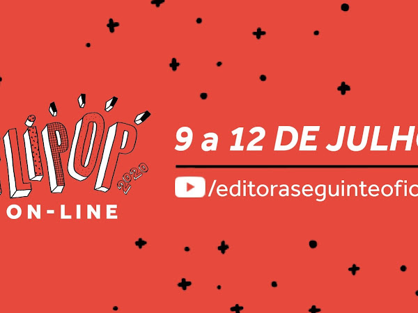 Programação da 4ª FLIPOP - Festival de Literatura Pop