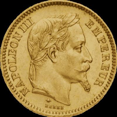 Napoléon Or, pièce d'or, monnaie en or,
