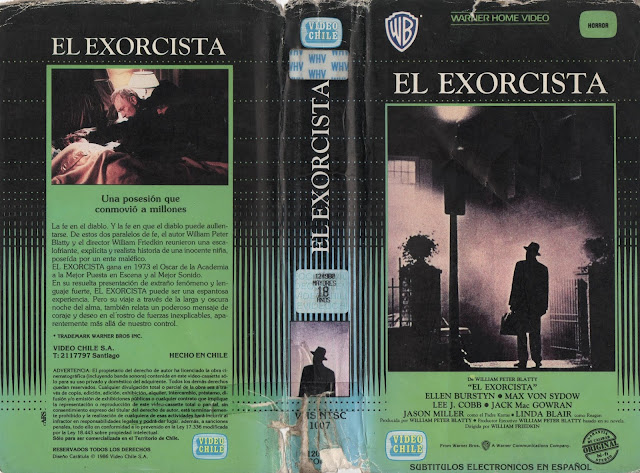 "Pelicula: ""El Exorcista"" - Version 1973"