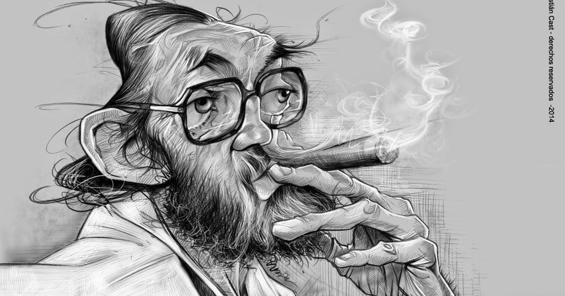 Sebastian Cast -Dibujante: Julio Cortázar