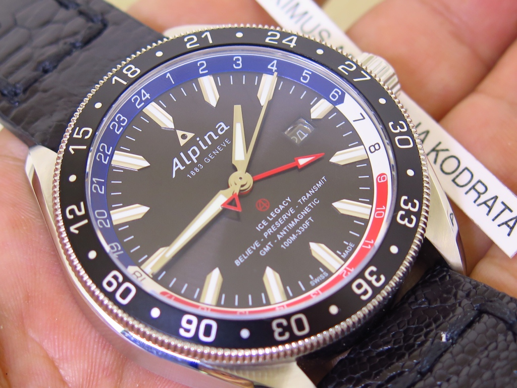 ALPINA ICE LEGACY GMT - AUTOMATIC