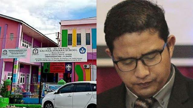 Bejat! Kepala Sekolah SD yang Juga Pendeta di Medan Dilaporkan Ca6u1i 6 Siswinya