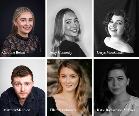 The finalists for Northern Ireland Opera's Glenarm Festival of Voice