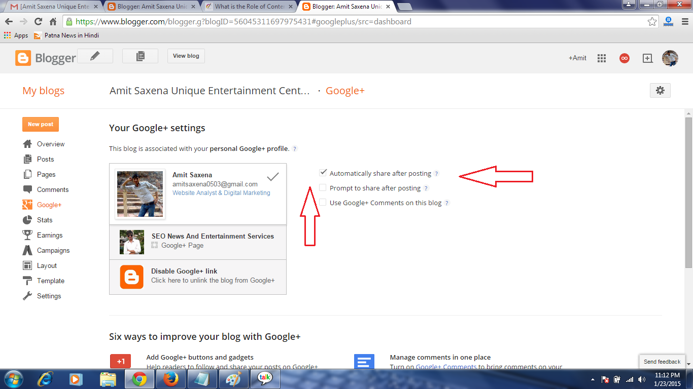 Enable or disable Google + Commenting on blogger, how to set embedded comment setting
