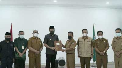 Ganting juara 1 Kelurahan Berprestasi Tingkat Provinsi Sumatera Barat 2021