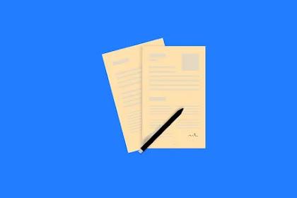 Surat Lamaran Kerja Yang Benar Terbaru