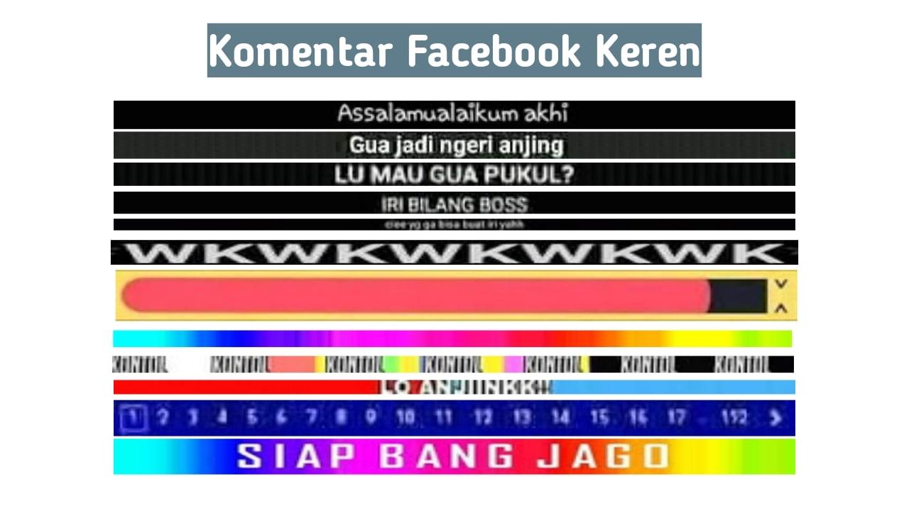 Cara Membuat Komentar Pelangi di Facebook