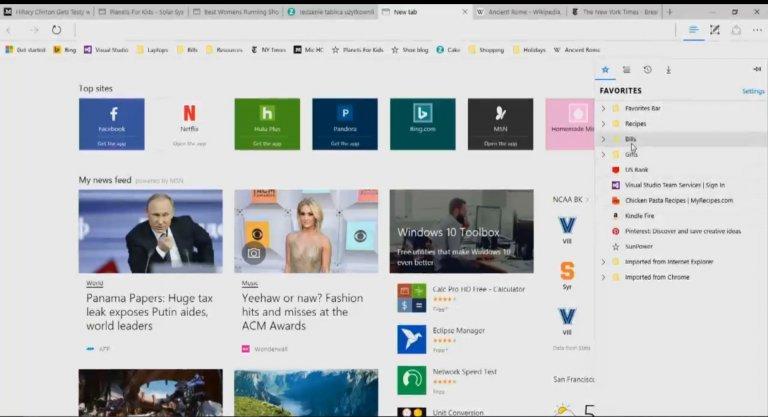 Le novità in arrivo su Microsoft Edge HTNovo 2