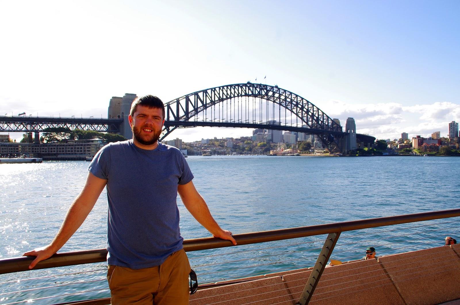 Dan at Harbour Bridge