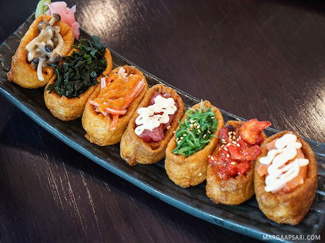 Inari Gunkan Moriawase Sushi Nobu (Shabu Nobu)