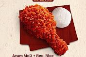 Promo McDonalds Makan Enak Tetap Murah Ayam McD + Reg. Rice Rp.15Ribu Periode 24-25 Februari 2020