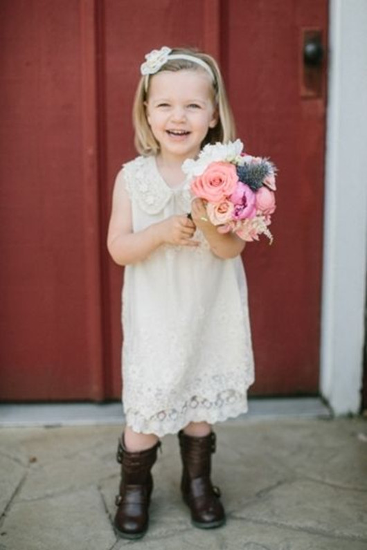 wedding flower girls flower ideas