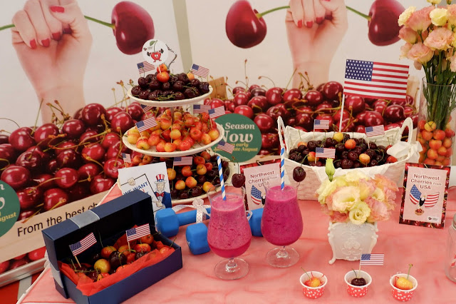 Launch Of Northwest Cherries Into The Malaysian Fruit Market