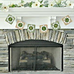 DIY Spring Moss Banner