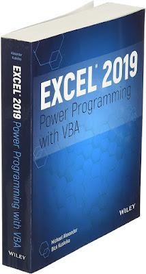 Excel 2019 Power Programming with VBA PDF FREE