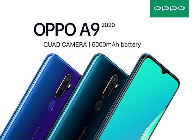 Spesifikasi dan Harga Oppo A9 2020