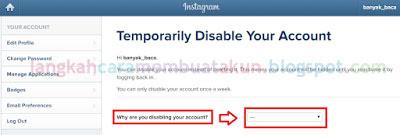 Cara Menghapus Akun Instagram Secara Permanen Lewat Hp