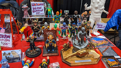 Man of Many Weapons at DesignerCon 2019