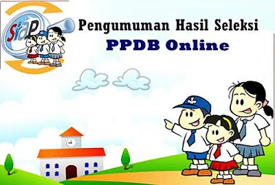 Pengumuman Hasil Seleksi PPDB Online