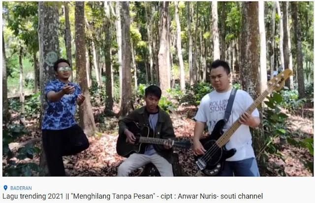 """Lirik lagu """"Pergi Tanpa Pesan"""" Ciptaan Anwar Nuris - Situbondo"""