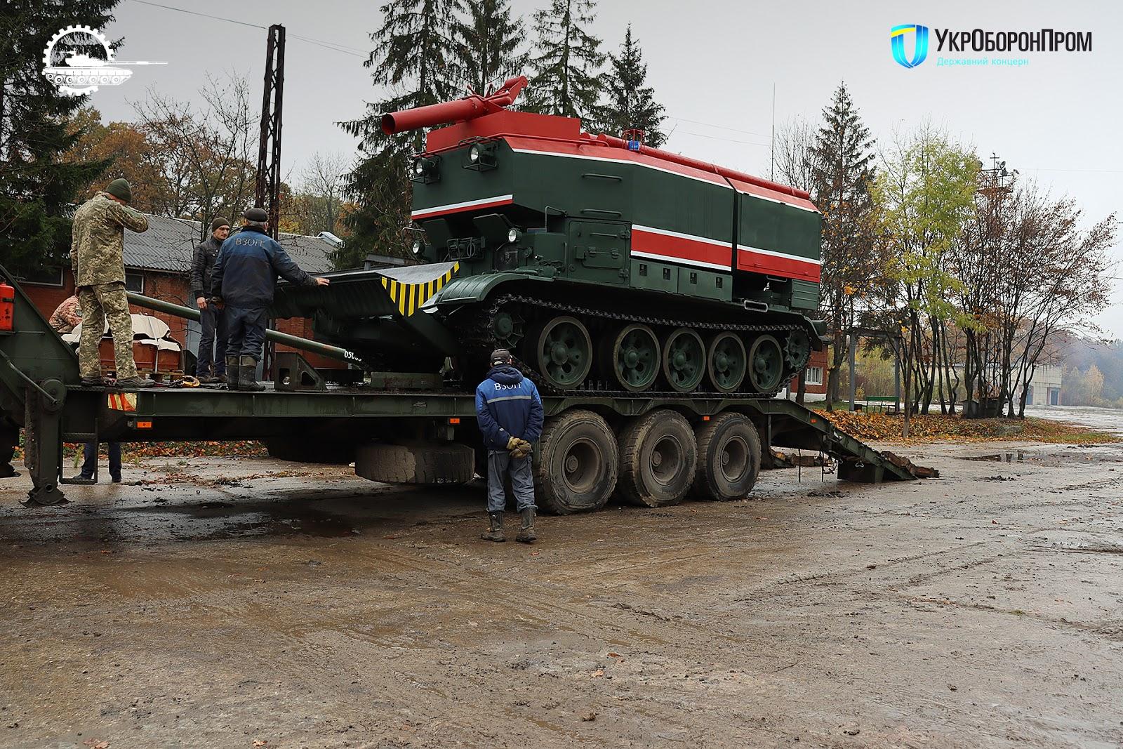 ЛБТЗ модернізував півтори десятки пожежних танків