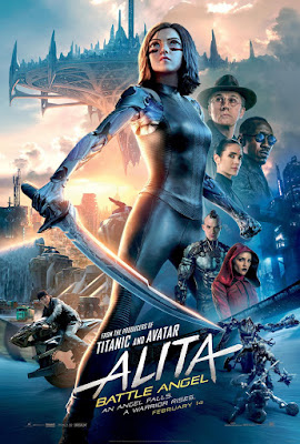 Alita Battle Angel Rosa Salazar Movie Poster 3