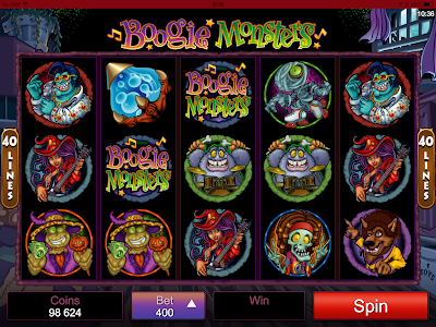 Boogie Monsters Slots, A Non-Progressive Jackpot Slot With A Difference
