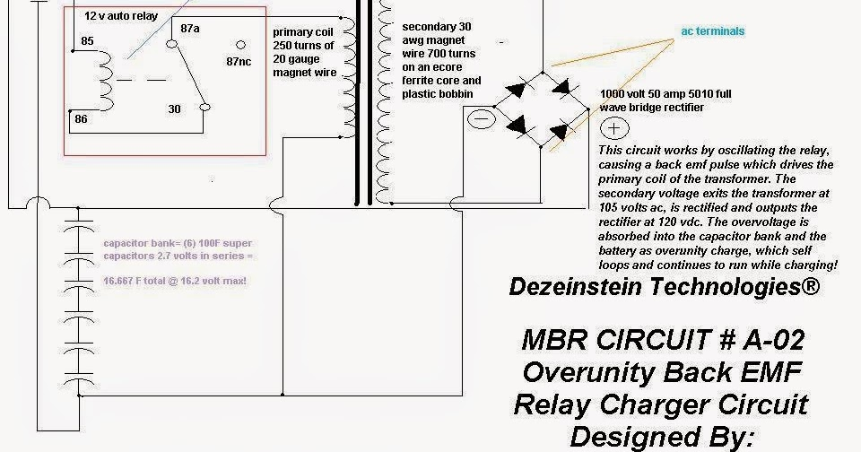 Marc's MBR Circuit: MBR Circuit A-02, Looped & Transformed