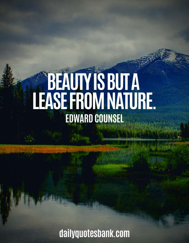 Being Simple Beauty Quotes About Nature