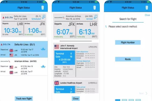 Aplikasi Pelacak Penerbangan Pesawat-4