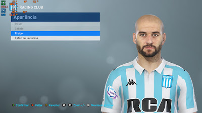 PES 2019 Faces Lisandro López by Lucas Facemaker
