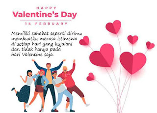 gambar hari valentine untuk teman