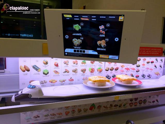 Genki Sushi Ordering System