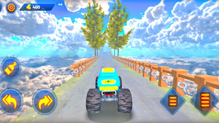 Mountain Monster Car Driving Stunt - apk download | Car Games | Gadi Wala Game