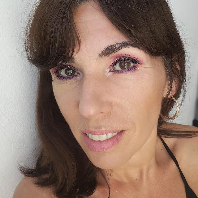 look con glitter tutorial