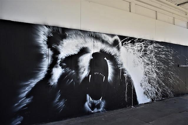 Launceston Street Art | Mural by @50ShadesOf Chrome