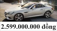 Giá xe Mercedes SLC 200 2017