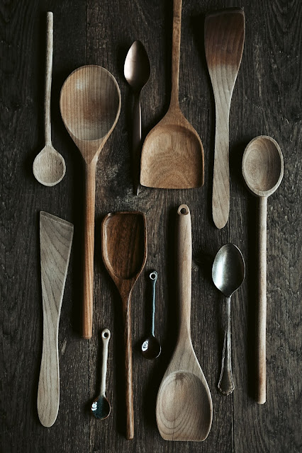 assorted spoons:Photo by Gaelle Marcel on Unsplash