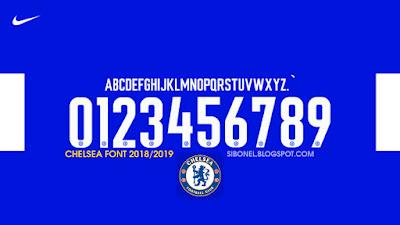 Font Chelsea 2019