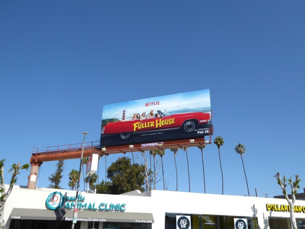 Fuller House series billboard