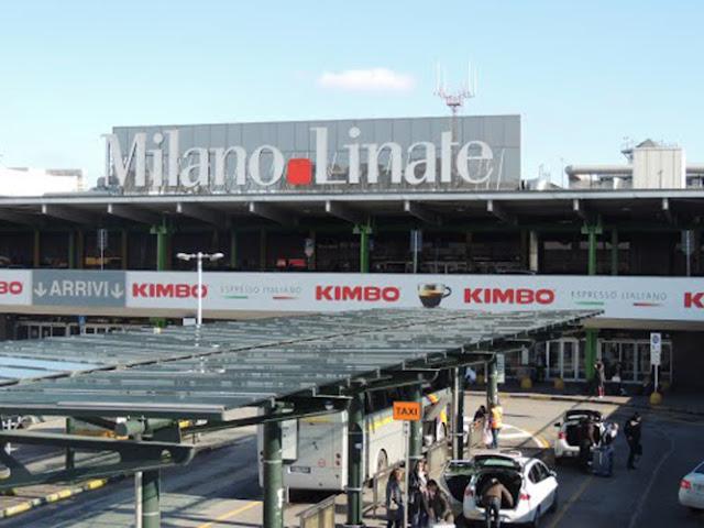 Táxi do aeroporto Linate até o centro turístico de Milão