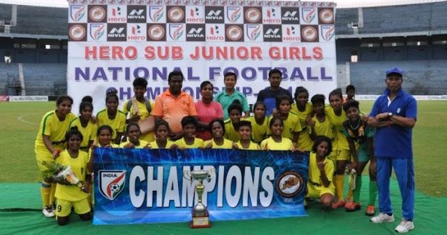JHARKHAND PUT 4 PAST ARUNACHAL PRADESH TO WIN HERO SUB-JUNIOR GIRLS' NFC