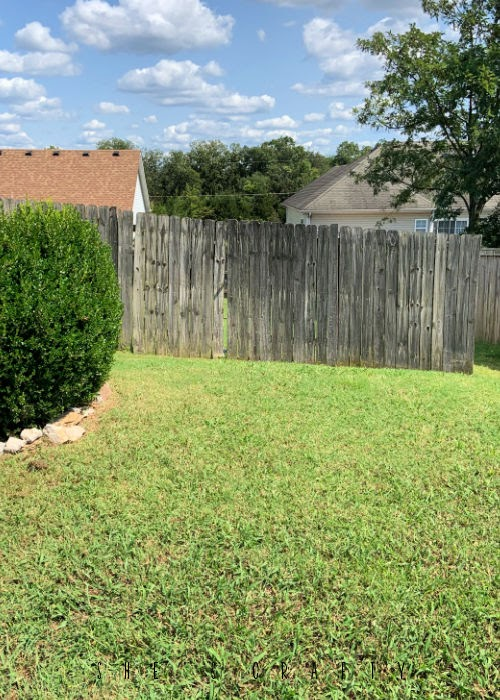 Wooden Fence in Middle Tennessee.