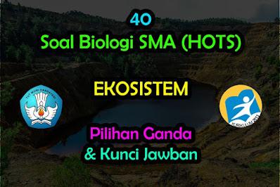 Soal Biologi HOTS Tentang Ekosistem Kunci Jawaban