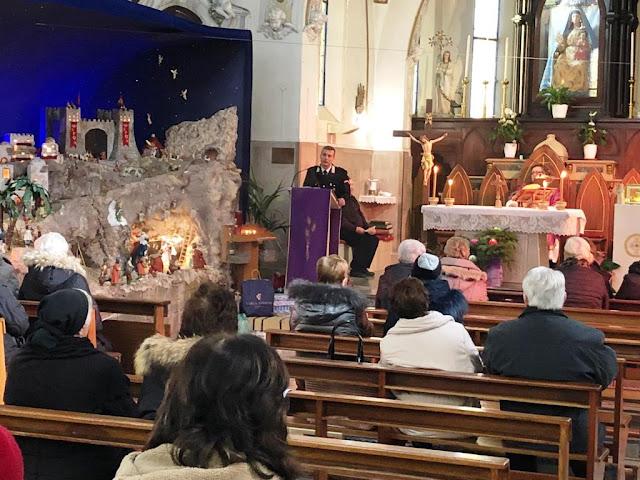 Anzano di Puglia. I Carabinieri in chiesa contro furti e truffe agli anziani