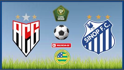 Atlético estreia hoje (25) na Copa Verde diante do Sinop-MT