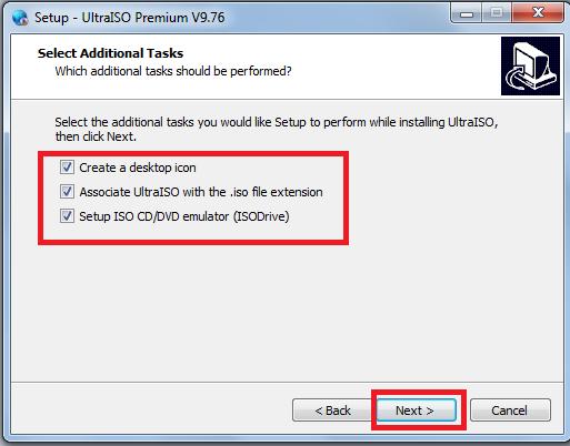 Hướng dẫn cài đặt UltraISO Premium 9.7.6 mới nhất c
