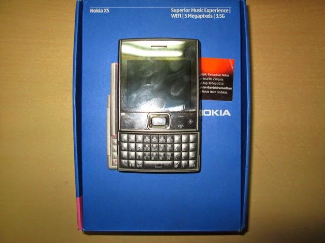 Nokia jadul X5-01